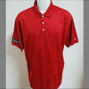 2XL Textured Nike Dri-FIT Mens #470 Golf Polo